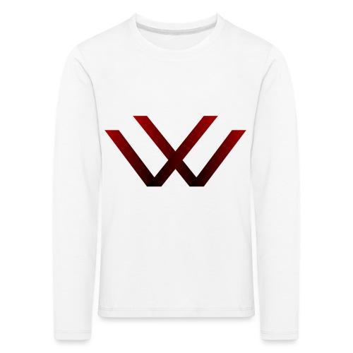 English walaker design - Kids' Premium Longsleeve Shirt