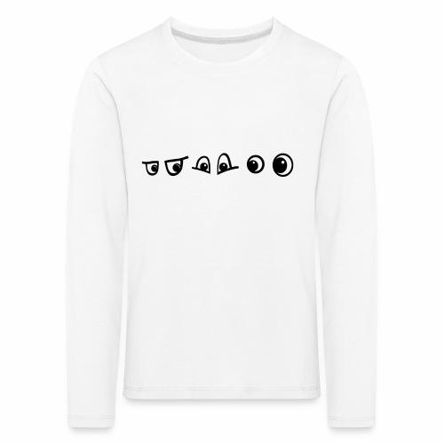 graffiti caracter augen - Kinder Premium Langarmshirt