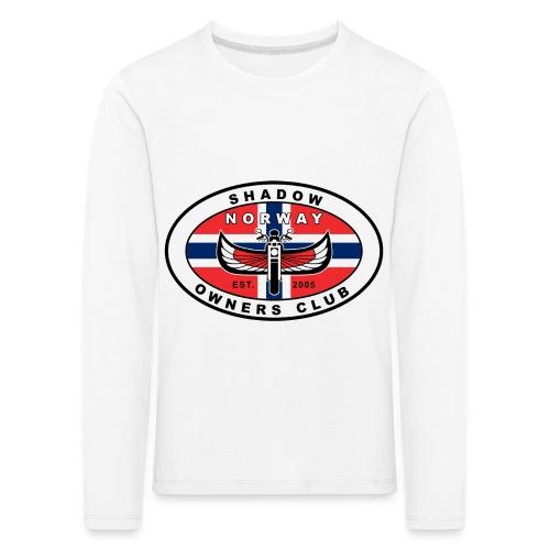 SHOC Norway Patch jpg - Premium langermet T-skjorte for barn