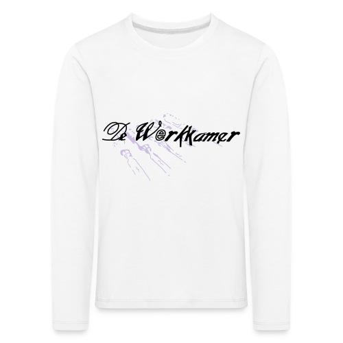 werkkamer edit - Kinderen Premium shirt met lange mouwen