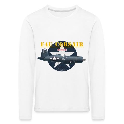 F4U Jeter VBF-83 - T-shirt manches longues Premium Enfant