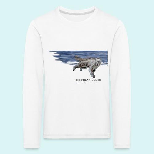 Polar-Blues-SpSh - Kids' Premium Longsleeve Shirt