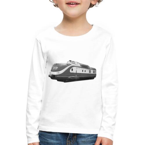 TEE Trans Europ Express Triebzug Bundesbahn Lok - Kinder Premium Langarmshirt