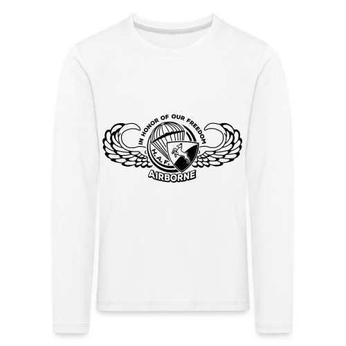 HAF tshirt back2015 - Kids' Premium Longsleeve Shirt