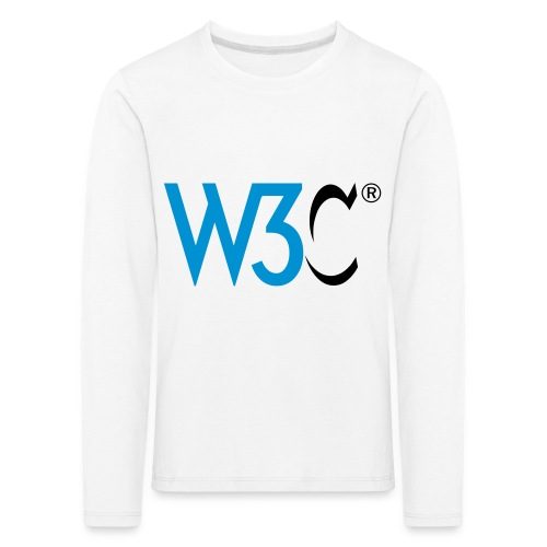 w3c - Kids' Premium Longsleeve Shirt