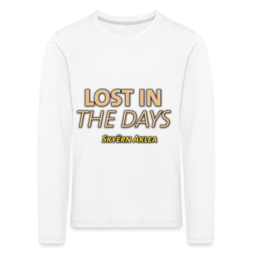 SKYERN AKLEA LOST IN THE DAYS - T-shirt manches longues Premium Enfant