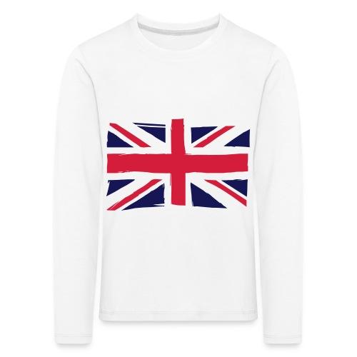 vlag engeland - Kinderen Premium shirt met lange mouwen