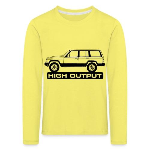 Jeep XJ High Output - Autonaut.com - Kids' Premium Longsleeve Shirt