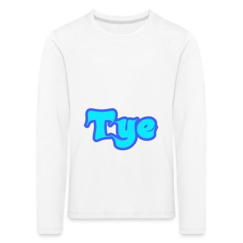 Tye Orginal Merch - Långärmad premium-T-shirt barn