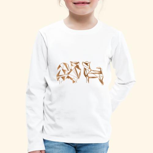 Chihuahua - Lasten premium pitkähihainen t-paita