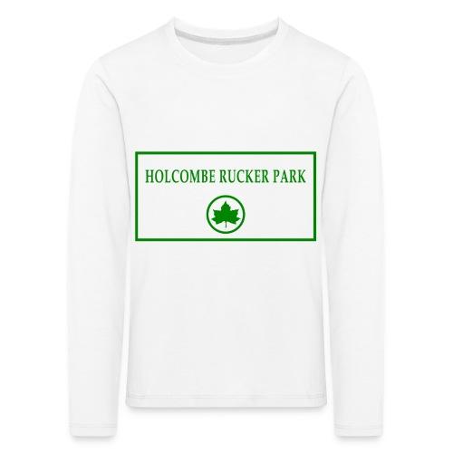 RuckerPark - Maglietta Premium a manica lunga per bambini