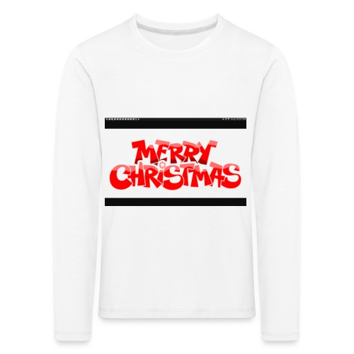 red Christmas top - Kids' Premium Longsleeve Shirt