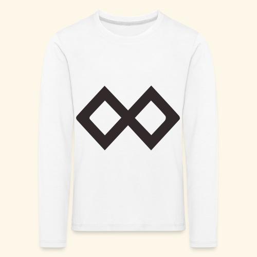 TenX Logo - Kinder Premium Langarmshirt