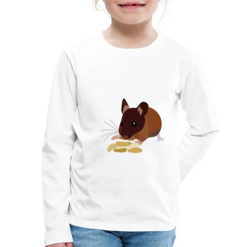Maus - Kinder Premium Langarmshirt