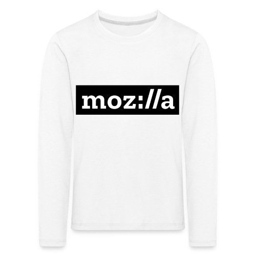 mozilla logo - Kids' Premium Longsleeve Shirt
