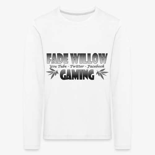 Fade Willow Gaming - Kids' Premium Longsleeve Shirt