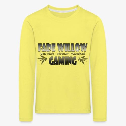 Fade Willow Gaming - Kids' Premium Longsleeve Shirt