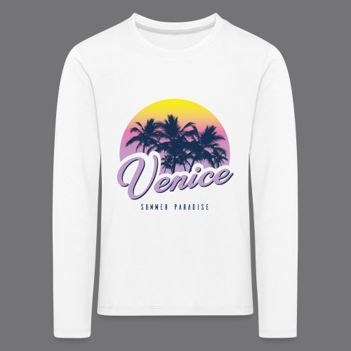 VENICE Tee Shirt - Kids' Premium Longsleeve Shirt