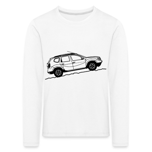 ddelogo png - Kids' Premium Longsleeve Shirt