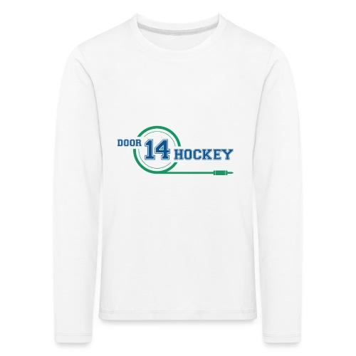 D14 HOCKEY LOGO - Kids' Premium Longsleeve Shirt