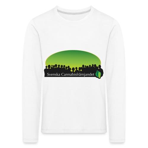 Svenska Cannabisfrämjandet - Långärmad premium-T-shirt barn