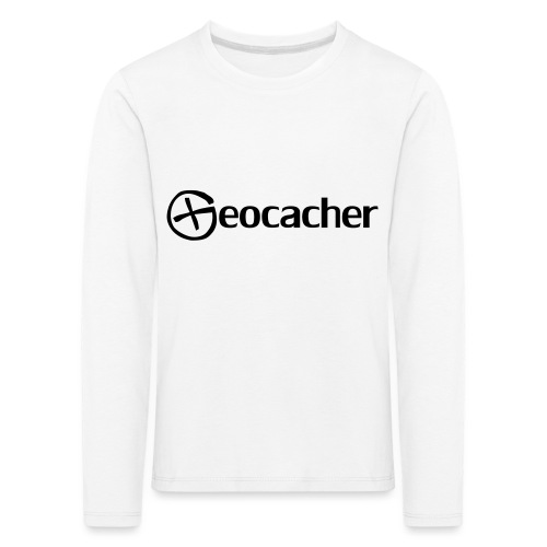 Geocacher - Lasten premium pitkähihainen t-paita