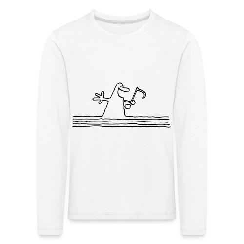 notenmännchen - Kinder Premium Langarmshirt