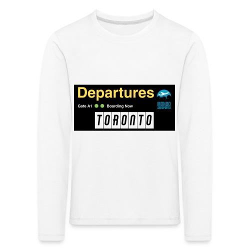 TORONTO png - Maglietta Premium a manica lunga per bambini