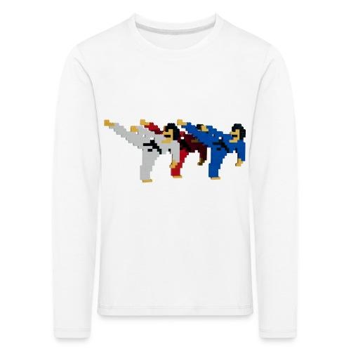 8 bit trip ninjas 2 - Kids' Premium Longsleeve Shirt