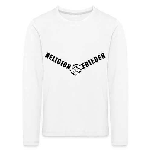 46_Handschlag_01 - Kinder Premium Langarmshirt