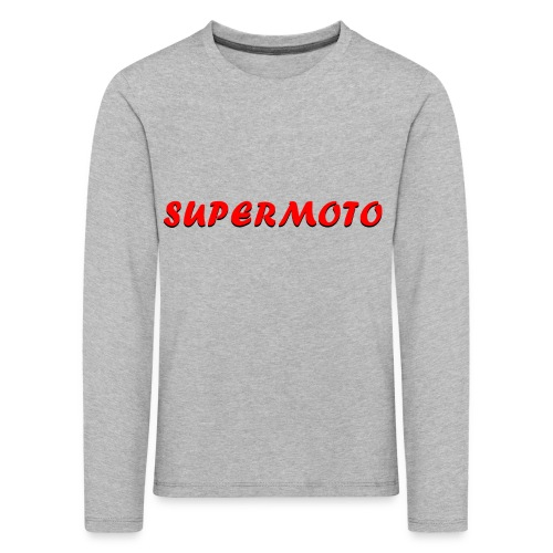 SupermotoLuvan - Långärmad premium-T-shirt barn
