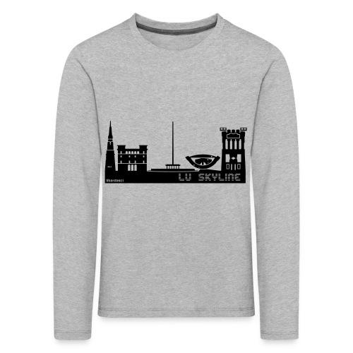 Lu skyline de Terni - Maglietta Premium a manica lunga per bambini