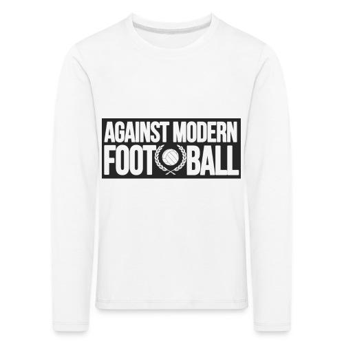 #AgainstModernFootball - Långärmad premium-T-shirt barn