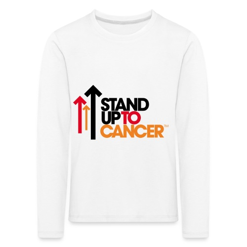 stand up to cancer logo - Kids' Premium Longsleeve Shirt