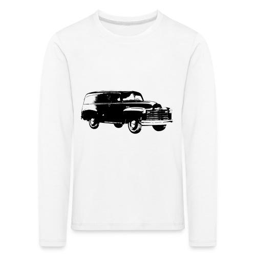 1947 chevy van - Kinder Premium Langarmshirt