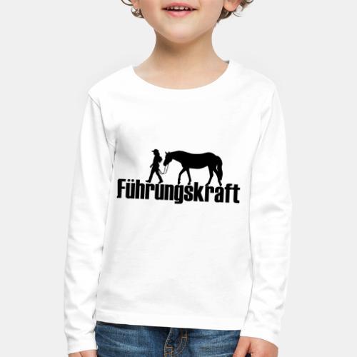 Führungskraft - Kinder Premium Langarmshirt