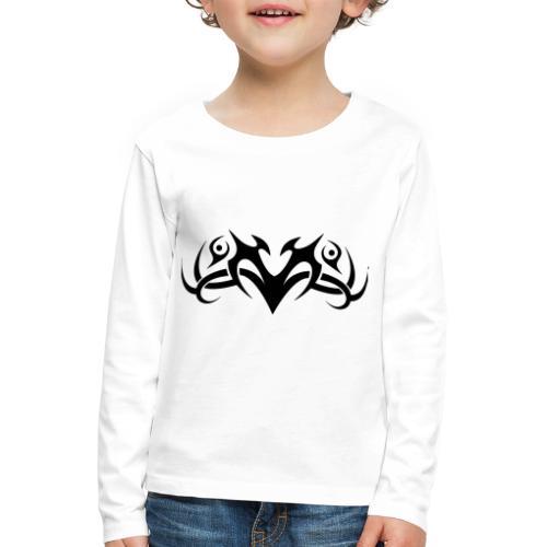Motif Tribal 8 - T-shirt manches longues Premium Enfant