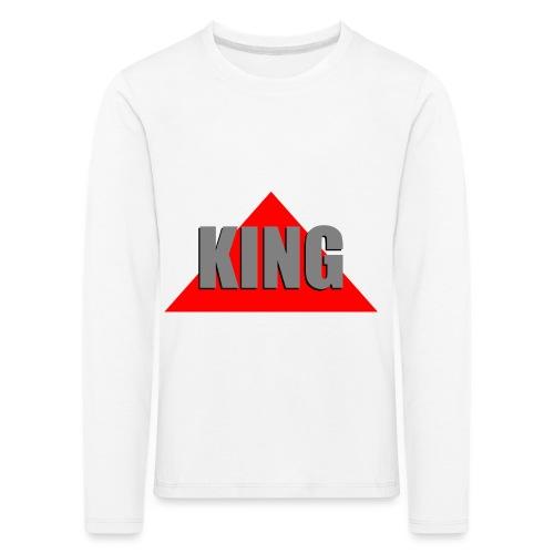 King, by SBDesigns - T-shirt manches longues Premium Enfant