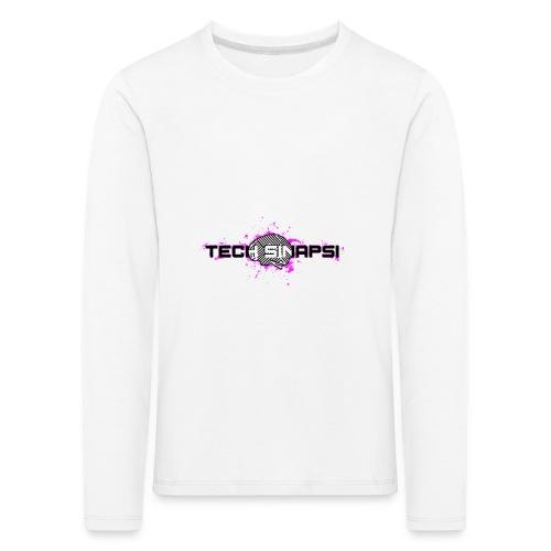 Tech Sinapsi SPLASH - Maglietta Premium a manica lunga per bambini