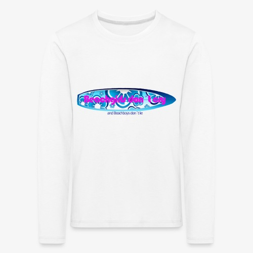 Beachgirl - Kinder Premium Langarmshirt