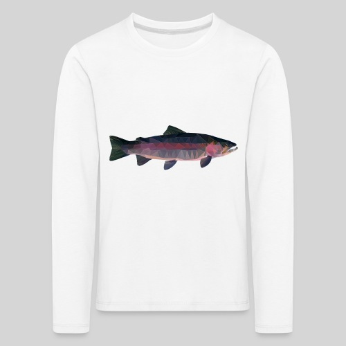 Trout - Lasten premium pitkähihainen t-paita