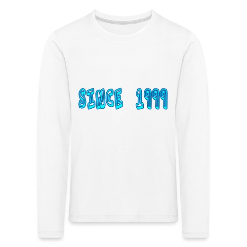 Since 1999 - Lasten premium pitkähihainen t-paita