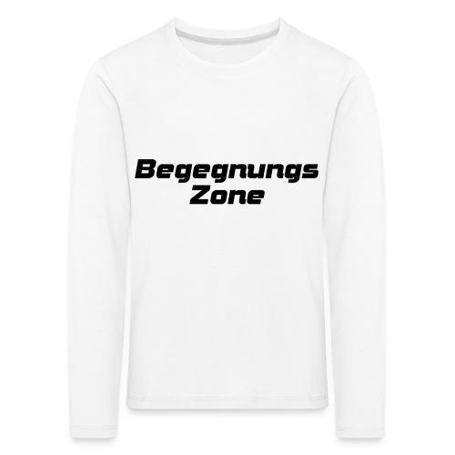 Begegnungszone - Kinder Premium Langarmshirt