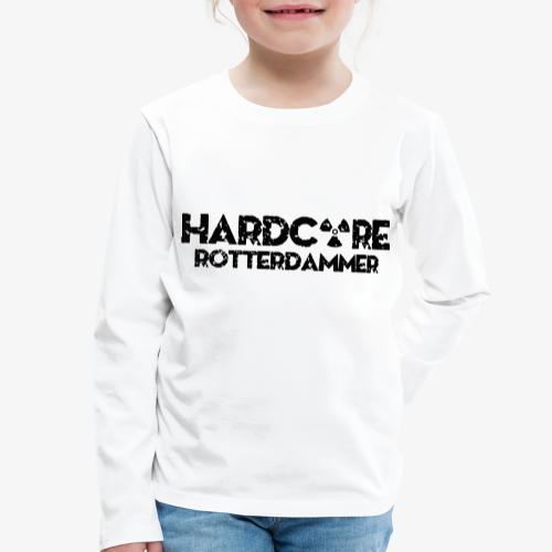 Hardcore Rotterdammer - Kinderen Premium shirt met lange mouwen