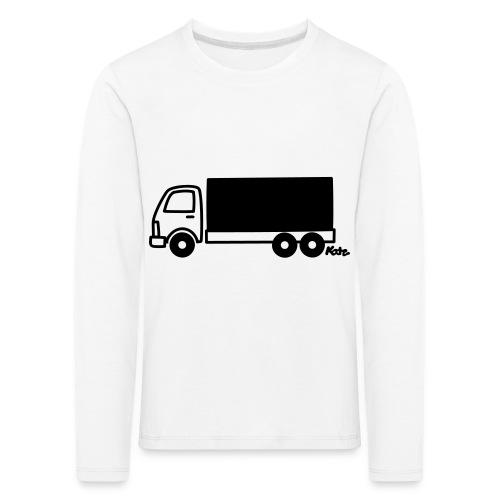 LKW lang - Kinder Premium Langarmshirt
