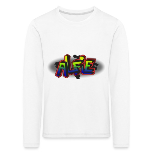 alfie Rainbow design - Kids' Premium Longsleeve Shirt