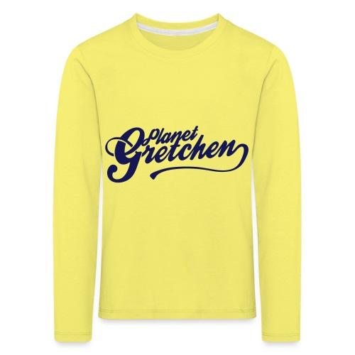 Planet Gretchen svart - Långärmad premium-T-shirt barn