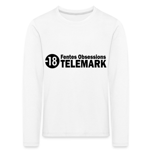telemark fentes obsessions18 - T-shirt manches longues Premium Enfant