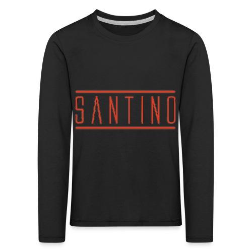 orange noir - T-shirt manches longues Premium Enfant