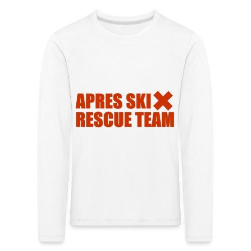 apres-ski rescue team - Kids' Premium Longsleeve Shirt